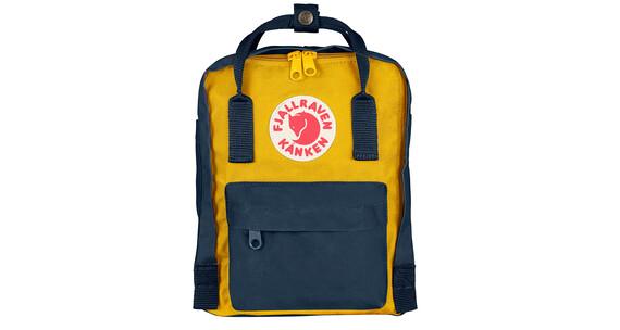 Fjällräven Kanken Mini Daypack żółty/niebieski